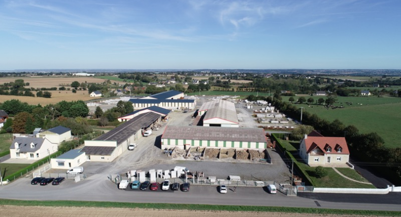 SITE DE PRODUCTION BETON ARME - AVRANCHES