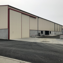 BATIMENT DE PRODUCTION PREFABRIQUE EN BETON ARME - AVRANCHES